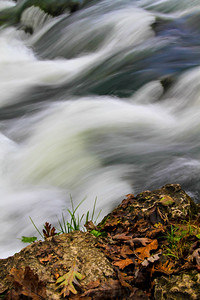Water from Alley Spring rushes down rocks.  Photo by Kyle Spradley | www.kspradleyphoto.com