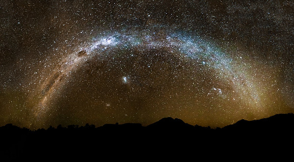 Warrumbungles Milkyway Panorama