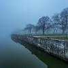 Foggy Morning Over Wesley Lake, Ocean Grove, NJ