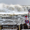 Rough Seas Behind Ralph On Ocean Grove Pier 12/17/20