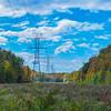 Autumn Colors Along Powerlines, Wall, NJ