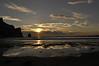 Sunset at Morro Rock.