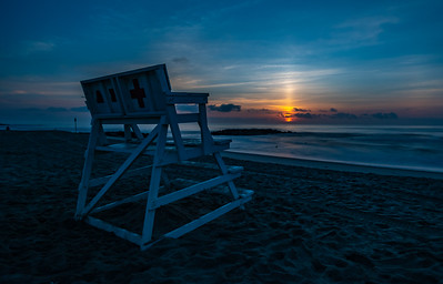 Sunrise Over Asbury Park Beach 9/2/18