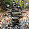 Huge Rock Cairn in Treman State Park, NY 10/16/17