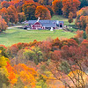 A Farmhouse Surrounded By Autumn Foilage 10/10/19