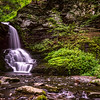 Silky Waterfalls at Bushkill Falls, PA