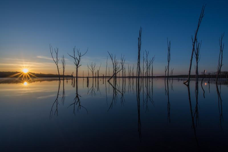 Manasquan Reservoir Sunrise, Howell, NJ