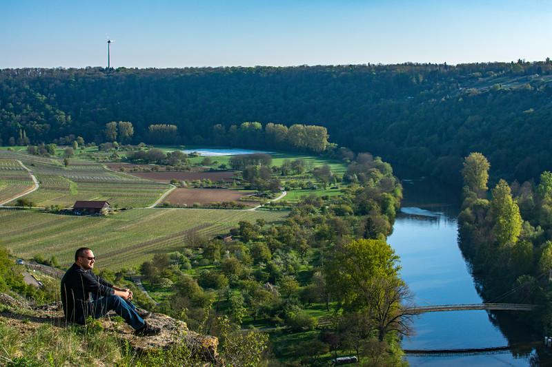 River Overlook in Germany 4/20/17