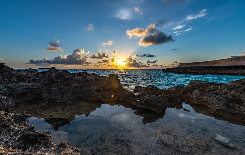 Sunrise Over Rocky Beach 7/18/19