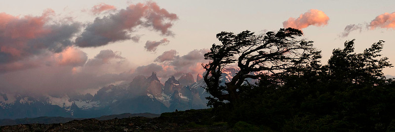 Patagonia Sunrise Silhouette #1