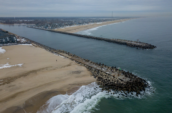 Manasquan Inlet Looking North 1/11/18
