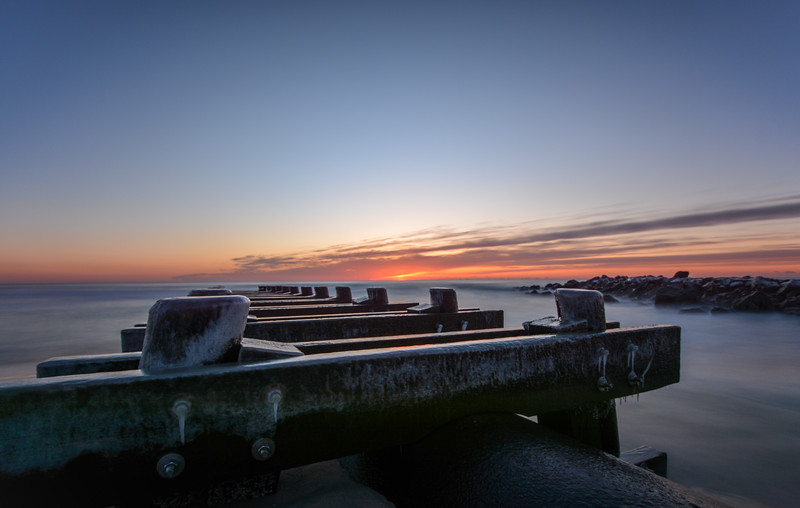 Sunrise Over Old Pier, Asbury Park, NJ