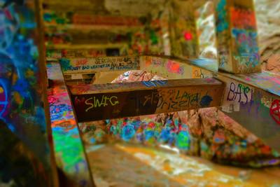Graffiti Falls Overpass