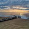 Sunrise Over Ocean Grove Pier 8/21/21