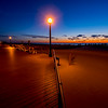Pre-Dawn Colors on Ocean Grove Boardwalk 3/3/16