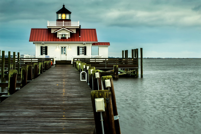 Roanoke Marshes Lighthouse Manteo North Carolina