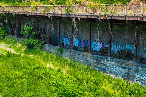 Where the railroad ran