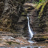 A Waterfall in Watkins Glen State Park, NY 10/16/17