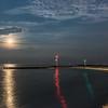Moonrise Over Shark River Inlet 7/13/17