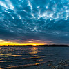 Cloudy Sunset Over Shark River 3/20/17