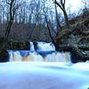 Hallamölla waterfalls