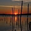 Silhouette Sunrise on Manasquan Reservoir, Howell, NJ