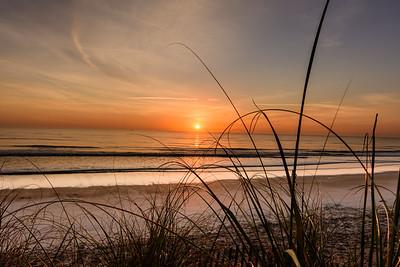 Sunrise Vilano Beach St Augustine Florida