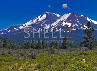 On the Road - Mt. Shasta