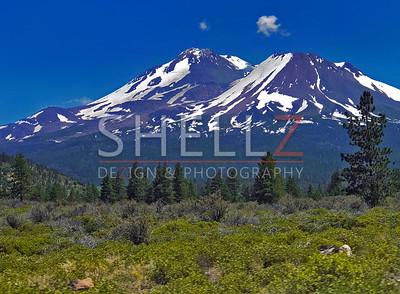 On the Road - Mt. Shasta