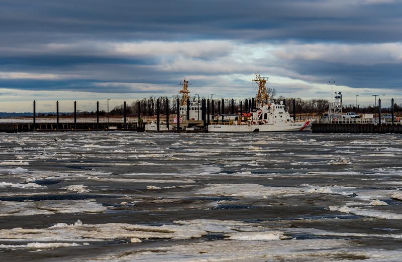 Frozen Bay in Sandy Hook 1/13/18