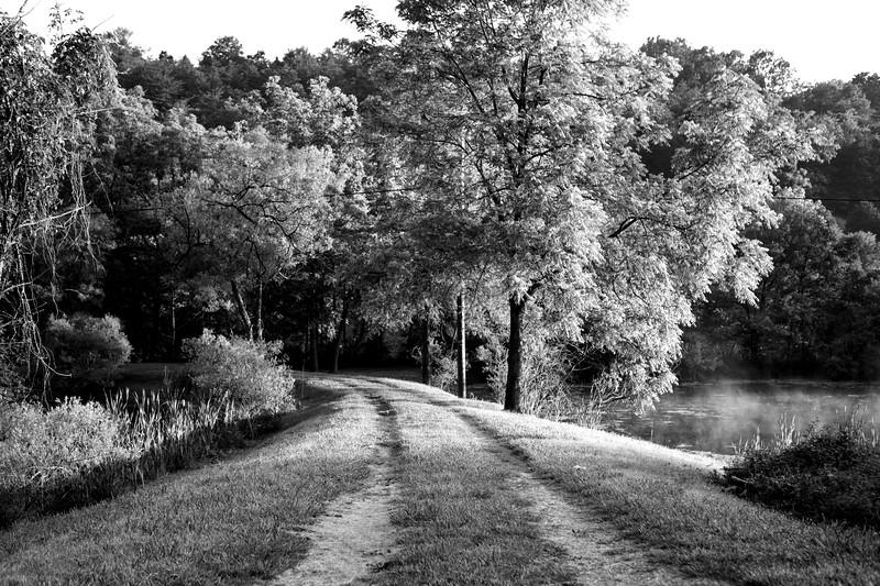 Joshua D Weiss Fine Art Photograph of Smith Creek near Christiansburg Virginia