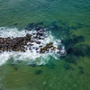 Aerial View Of Ocean Rock Jetty 6/30/20