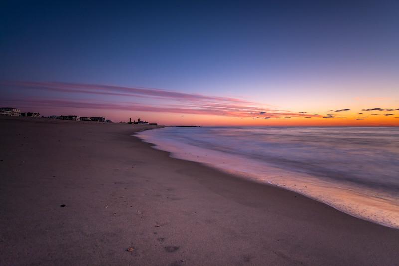 Pre-Dawn Colors on Ocean Grove Beach 3/3/16