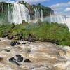 Panoramic view of Iguazu Falls, Brazil