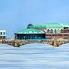 Frozen Wesley Lake, Asbury Park, NJ