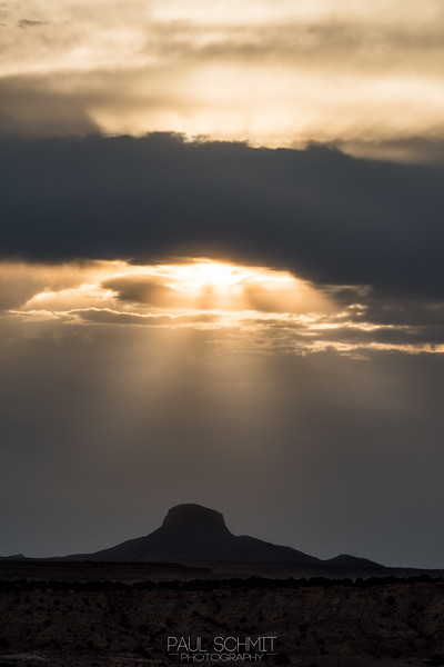Sunbeams over Cabezon