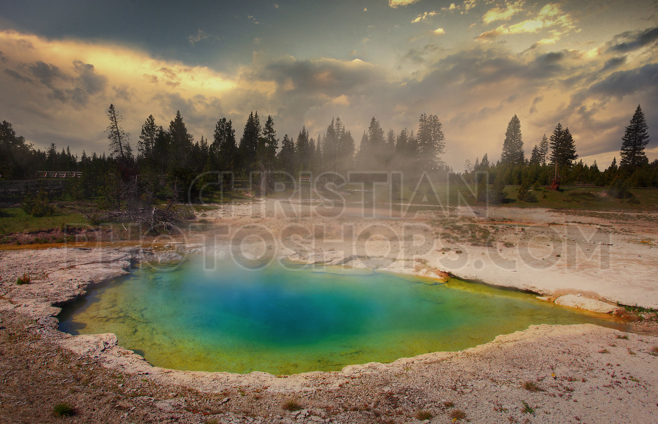 Geysers at Yellowstone