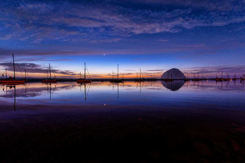 Morro Bay Reflections.