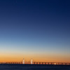 Öresundsbron in the blue hour