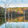 Autumn Colors Reflecting at Manasquan Reservoir 10/23/17