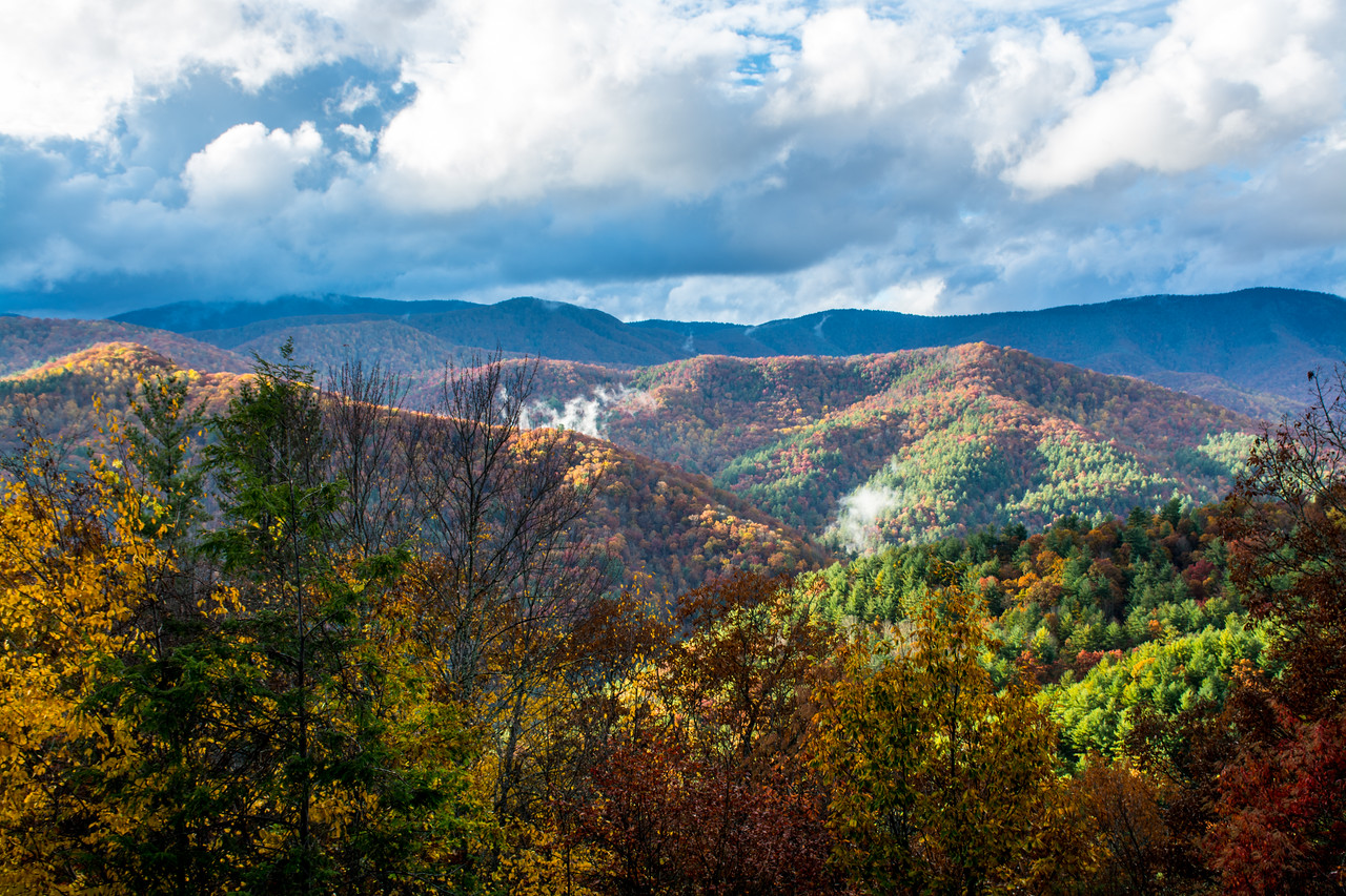 The Great Smoky Mountain National Park