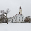 A Snowy Scene At Sandy Hook Lighthouse 2/7/21