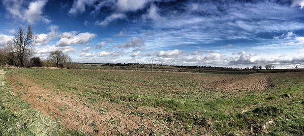 West Haddon pano