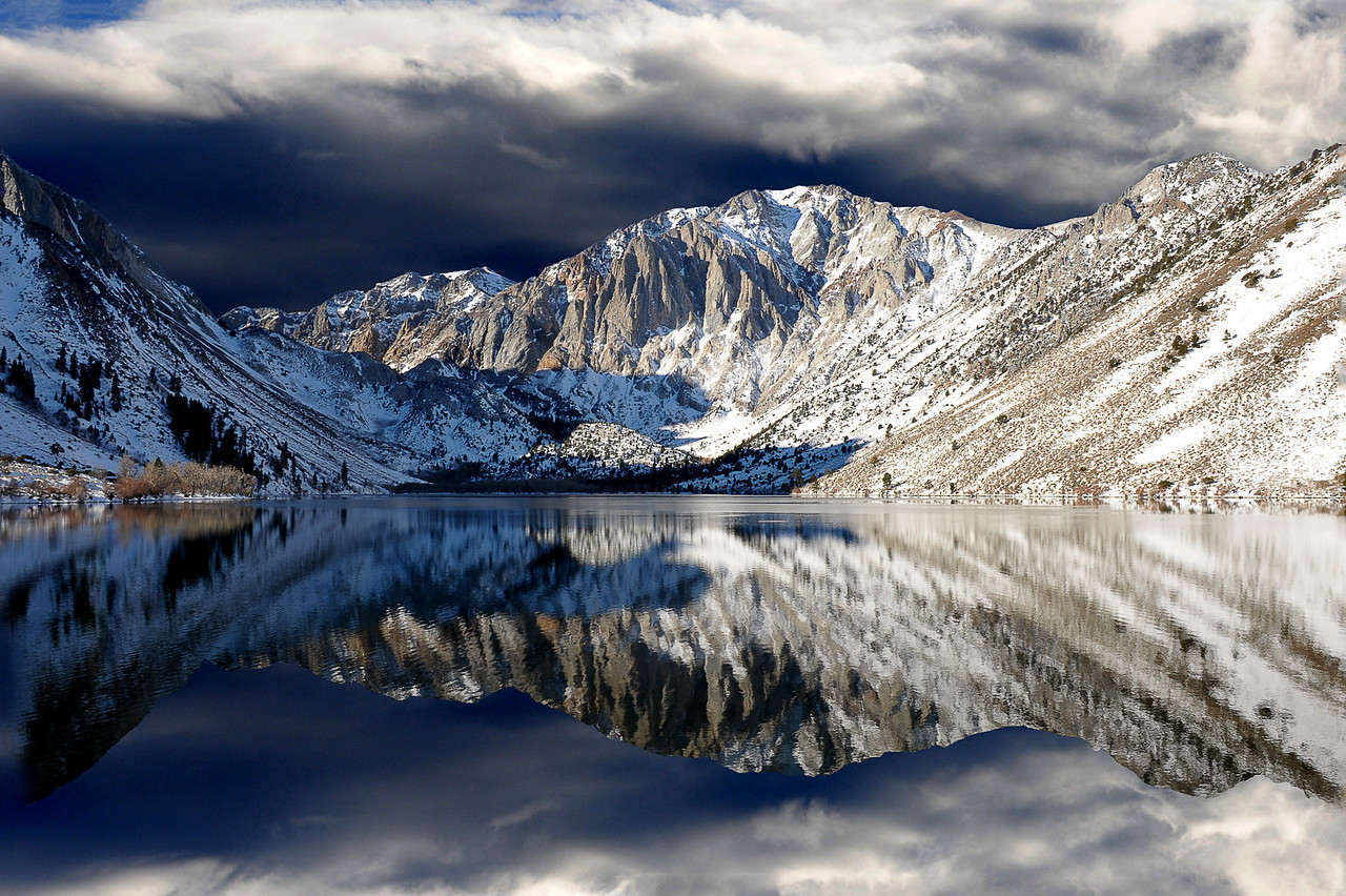 Reflections at Convict Lake