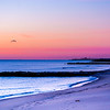 Sunrise Colors Looking Toward Belmar Pier, Ocean Grove, NJ