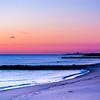 Sunrise Colors Looking Toward Belmar Pier, Ocean Grove, NJ