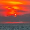 """""""The Devil's Horn""""  The Annular Solar Eclipse Over Ocean 6/10/21"""