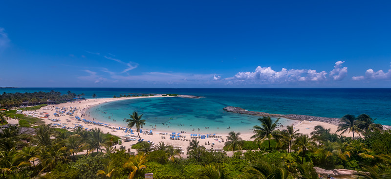 Cove Beach in Nassau, Bahamas 7/18/19