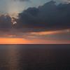 Sunset from Sweden to Denmark