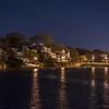 Waxing Crescent Moon Over Wesley Lake, Ocean Grove, NJ